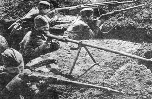Стрелки против танков