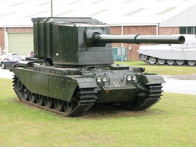 Опытные истребители танков FV4004 и FV4005