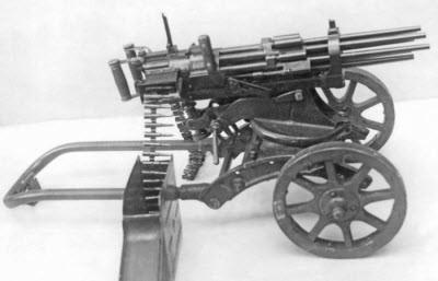 «Шквальные» пулемёты Слостина