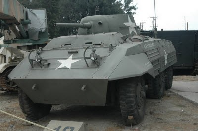 M8 armored car Walk Around