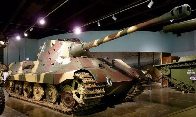 Tiger II King Tiger Tank Walk Around