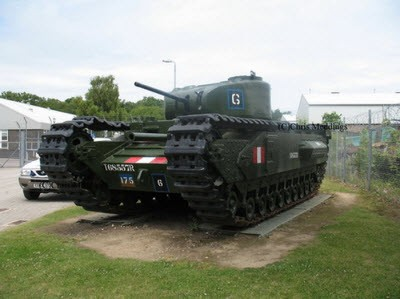 Churchill MK II Walk Around