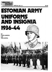 Estonian Army Uniforms and Insignia 1936-44