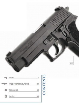 SIG SAUER Global defense solutions military & law enforcement Catalog