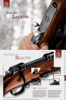 Mauser Hunting Catalogue 2012